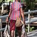 Agats - a woman bearing fresh fish