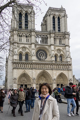 After Mass 1 (camike) Tags: ilce6000 lenses paris sel18135 so buildings church landmarks people plazas sights trees