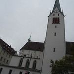 Feldkirch, Vorarlberg (Austria) - Dom St. Nikolaus - Duomo di San Nicola di Bari, Catedral de San Nicolás de Bari, Cathédrale du Saint Nicolas de Myre, Cathedrale of Saint Nicholas, Wniebowzięcie Mikołaj z Miry