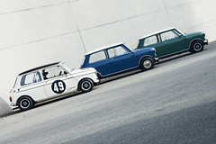 Mini 60 Years. Which Mini Mk1 would you like ?