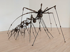 """""""Spiders"""", Louise Bourgeois (Joey Hinton) Tags: sanfrancisco california unitedstates museum modern art spiders louise bourgeois google pixel2 andriod smartphone cellphone cameraphone phone"""