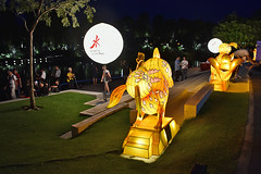 Jade Rabbits (chooyutshing) Tags: jaderabbit lanterns lightedup midautumnfestival2018 display attractions dragonflylake gardensbythebay baysouth marinabay singapore