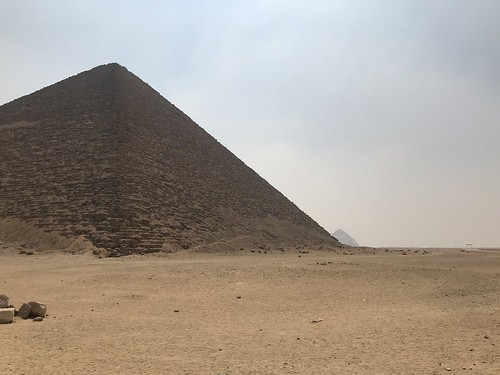 The Red and Bent Pyramids, Dahshur, Egypt.