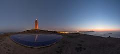 Pano Coruña Torre roja (Emilio Rodríguez Álvarez) Tags: faro torre hercules coruña coruna paisaje sea landscape panoramica