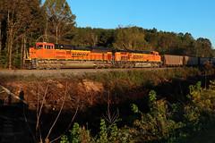 NS 76Z (Steve Hardin) Tags: locomotive engine emd sd70ace es44ac burlingtonnorthernsantafe bnsf norfolksouthern railway railroad railfan train coal braswell georgia