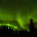 Aurora borealis in Kuopio