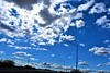 Sun breaks through (thomasgorman1) Tags: nikon clouds cloudy overcast sun light sunlight nature blue sky outdoors az desert arizona