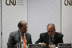Ministro Dias Toffoli durante assinatura de convênio com o TJRO sobre PJe (Conselho Nacional de Justiça - CNJ) Tags: ministro dias toffoli durante assinatura de convênio com o tjro sobre pje