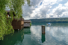 Boatshouse on Lake  Hallwil (Bephep2010) Tags: 2018 7markiii aesch aeschlu alpha boot bootshaus frühling hallwilersee ilce7m3schweiz lakehallwil lucerne luzern sel075uwc sel28f20 see sony switzerland uwc wald wolken boat boatshouse clouds forest lake spring ⍺7iii kantonluzern schweiz ch