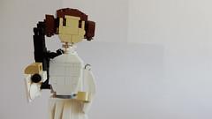 Princess Leia by Miro Dudas #2 (Brick Painter) Tags: a new hope star wars lego princess leia carrie fisher blockade runner miro dudas