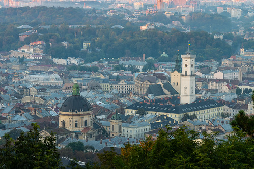 Lviv, le centre historique