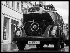 Historic fire truck in Lüneburg (mechanicalArts) Tags: magirus deutz feuerwehrauto lüneburg historisch 150 jubiläum des landesfeuerwehrverband niedersachsen feuerwehrmeile