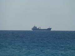 Unknown ship (skumroffe) Tags: possidi halkidiki chalkidiki greece grekland hellas ellada ship schiff fartyg lastfartyg cargoship poseidi kassandra
