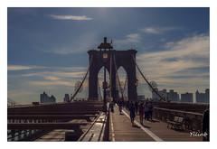 Pont de Brooklyn (Ylliab Photo) Tags: ylliabphoto ylliab newyork autofocus brooklin urban bridge landscape lepaysagesimplement lumiere lumiére art artistephotographique brooklyn