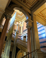 Stiegenhaus (Don Claudio, Vienna) Tags: börse büros ring wien vienna austria österreich büro foyer wiener schottenring theophil hansen stiegenhaus
