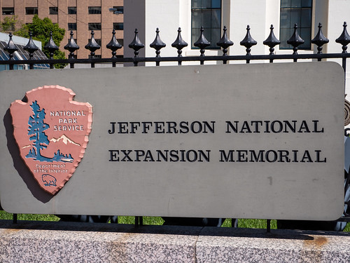 Jefferson National Expansion Memorial Sign
