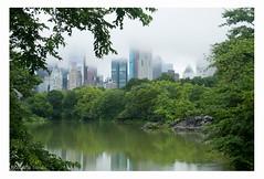 Central Park (Nolwenn Trvdc) Tags: usa america newyork town fog park green building