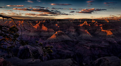 The Land Before Time (Kathy Macpherson Baca) Tags: landscape grandcanyon sunset world iceage scenic planet earth clay arizona