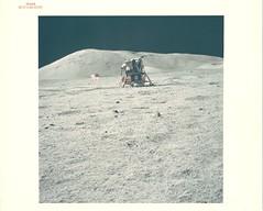 a17_v_c_o_AKP (AS17-134-20508) (apollo_4ever) Tags: magnificentdesolation lunarmodularchallenger modularequipmentstowageassembly modularizedequipmentstowageassembly oldgloryonthemoon lunarboulders bouldertracks lunarboulder rovertracks rcsthrusters reactioncontrolsystemthrusters plumedeflector mylar kapton descentstage ascentstage lunarspacecraft humanspaceflight mannedspaceflight eva extravehicularactivity regolith lunarregolith lunarsurface eugenecernan genecernan harrisonschmitt jackschmitt endofanera lastmanonthemoon lm12 grummanlm grummanlunarmodule gaec grummanaircraftengineeringcorporation eastmassif apollo17 apolloxvii tauruslittrow lunarmodule projectapollo apolloprogram apollospaceprogram