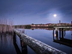 Nordic Night (Torstein1000) Tags: canon g11 night moon summer lake pier
