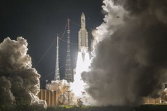Ariane 5 V243 100th launch (europeanspaceagency) Tags: ariane5 ariane100 rocket launch liftoff fire v243 europeanspaceagency azerspace2intelsat azerspace2intelsat38 horizons3e esa space universe cosmos spacescience science spacetechnology tech technology