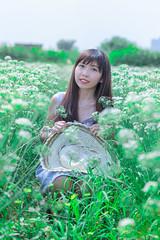 IMG_4901DL (攝影玩家-明晏) Tags: 人 人像 戶外 韭菜花 outdoor taiwan taipei si gma85 art portrait model 素人