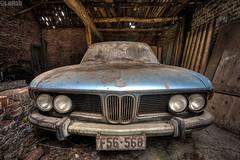 Jack's ride (LaR0b) Tags: ue urban urbex exploring exploration decay abandoned lar0b lost hdr highdynamicrange farm car vehicle transport bmw classic old oldtimer