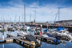 Whitehaven Marina (SKAC32) Tags: whitehaven cumbria marina harbour quay bluesky boats yachts atlanticocean irishsea