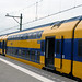 2012 NS DDZ (NID) 7536 (NS Sprinter) double-decker electric multiple unit passenger train at Zandvoort aan Zee, Netherlands