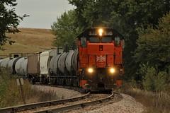 BLE 910 Near Wall Lake, Iowa (matthewspika) Tags: freight canadian national iowa