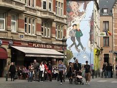 brussel (gerben more) Tags: brussel brussels bruxelles painting mural streetscene belgium