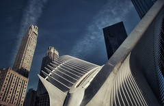 Ground Zero (ValterB) Tags: newyork 2018 nyc nikond90 usa valterb architecture abstract art valter sky shadow scenic street urban urbanphotography urbanwalls building geometric concrete white blue window modern contemporary curves lines structure environment geometry square facade color outdoor