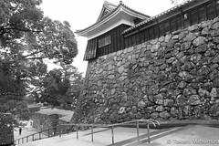 Matsue Castle B&W (takashi_matsumura) Tags: matsue castle shimane japan nikon d5300 bw sigma 1750mm f28 ex dc os hsm architecture black white ngc