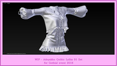 WIP (☯‿☯)ノ (yakochi) Tags: secondlife gothic lolita 2018 event gothical