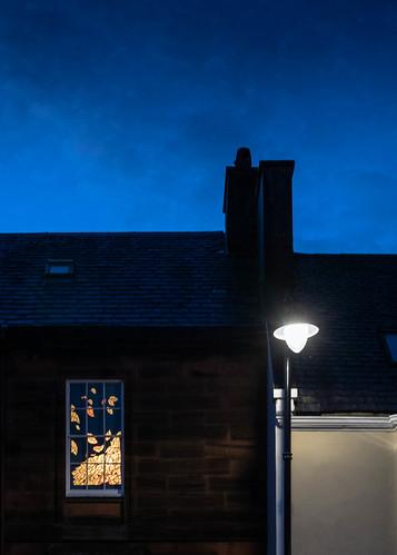 High Street, Kirkcudbright Festival of Light