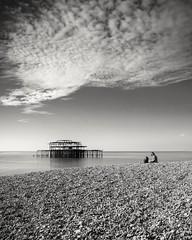 **West Pier, Brighton** (Col!) Tags: westpier brighton sky seascape clouds tamron18270 canon700d