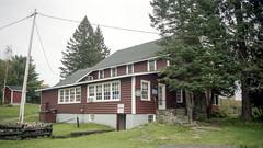 Billie Bear Main Lodge Front Side (Bill Smith1) Tags: billsmithsphotography heyfsc kodakportra400 muskoka nlp2018 olympusom2n zuikolenses believeinfilm zuiko28f35lens