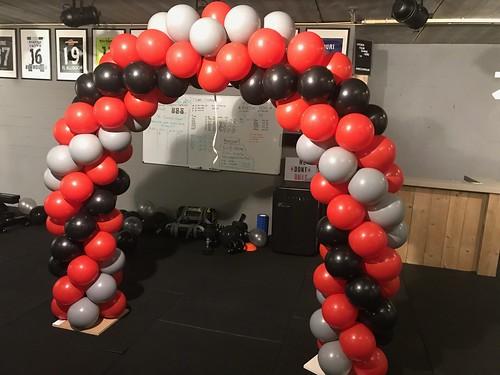 Ballonboog 5m Opening ZBS Personal Training Bergen op Zoom