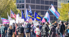 2018.10.22 We Won't Be Erased - Rally for Trans Rights, Washington, DC USA 06814