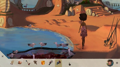 Broken Age Vella gameplay