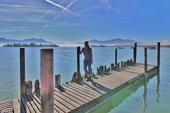 at the Chiemsee Lake (Hugo von Schreck) Tags: hugovonschreck gstadtamchiemsee bayern deutschland germany europe bavaria ngc canoneos5dsr tamronsp1530mmf28divcusda012