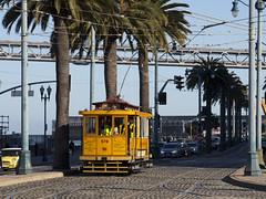 578 on the Embarcadero (imartin92) Tags: sanfrancisco municipal railway california muni streetcar tram trolley railroad transit