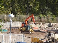 Sixth Form, Grange Road, Cwmbran 22 Octiber 2018 (Cold War Warrior) Tags: school construction plant cwmbran