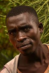 Wollayta Man (Rod Waddington) Tags: africa african afrique afrika äthiopien ethiopia ethiopian ethnic etiopia ethnicity ethiopie etiopian wollaita wolayta wollayta man farmer portrait people outdoor candid euphorbia plant