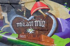 Mia San Mia (soboy5) Tags: streetphotography streetart wall art graffiti brown red green brooklyn bushwick bushwickcollective nyc newyorkcity newyork mural purple sooc fuji fujifilm xt1