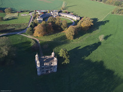 Tixall Gatehouse and Mews (bigbluewolf) Tags: drone drones mavic mavicpro pro aerial air tixall gatehouse mews