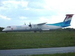 LX-LGE DHC8Q-402 Dash Eight (c/n 4284) Luxembourg (andrewt242) Tags: lxlge dhc8q402 dash eight cn 4284 luxembourg
