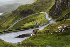 driving up the hill (Suzanne's stream) Tags: drive car hill berg isleskye scotland schottland strase road