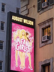 Mean Girls (Joe Shlabotnik) Tags: newyorkcity theater galaxys9 sign manhattan meangirls cameraphone marquee april2018 broadway 2018 nyc