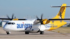 G-VZON (AnDyMHoLdEn) Tags: aurigny atr egcc airport manchester manchesterairport 23l